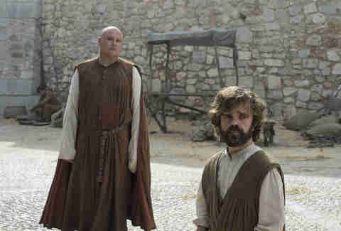 tyrion lannister, varys game of thrones