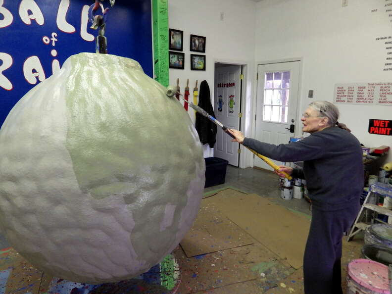 World's Biggest Ball of Paint