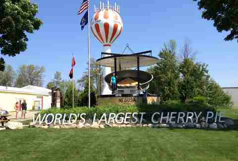 World's Largest Cherry Pie