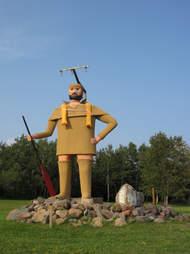 Pierre the Pantsless Voyageur