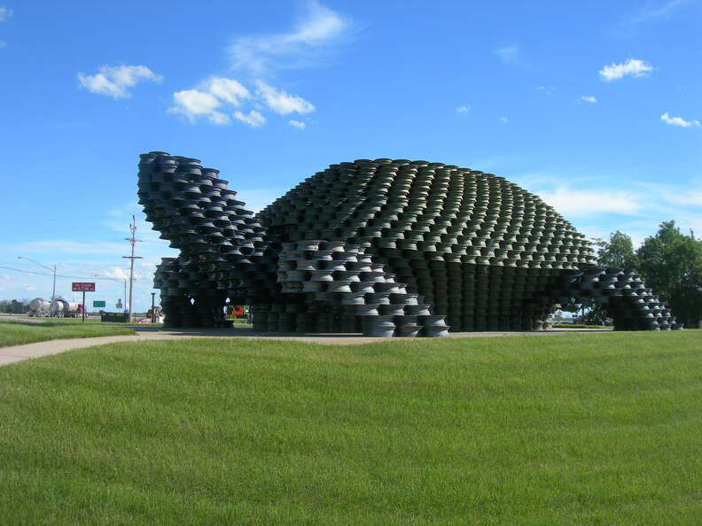 World's Largest Man-Made Turtle
