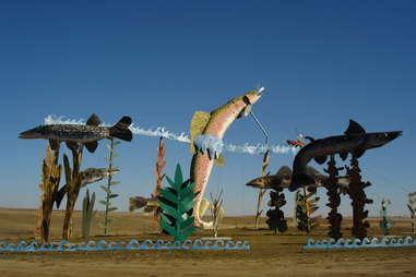 Enchanted Highway Sculptures