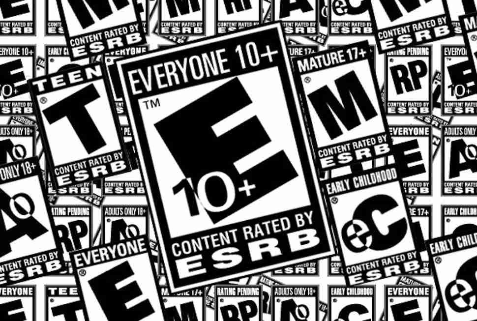 esrb logo rating