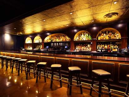 Untitled long bar golden ceiling thrillist chicago