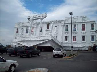 Upside-Down White House