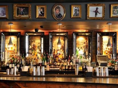 Callooh Callay bar framed photos old school thrillist london