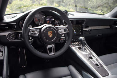 The interior is as Germanic as ever