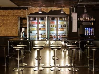 White Lyan interior industrial bar mirrored london thrillist
