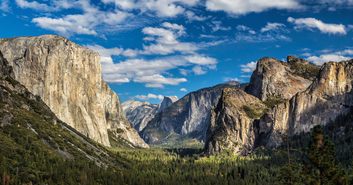 Most Beautiful Places In Yosemite National Park Half Dome