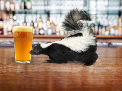 skunk and beer