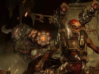 Doom videogame demon