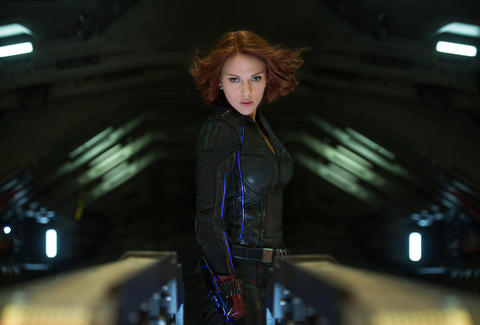 black widow in avengers age of ultron
