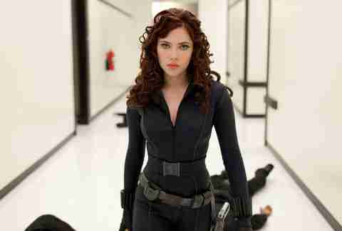 black widow in iron man 2