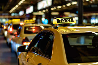 taxi cab line