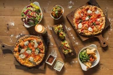 The Backspace pizza