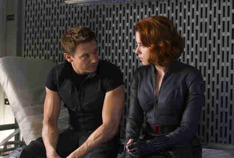 hawkeye and black widow MCU