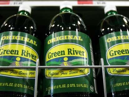 Green River bottles