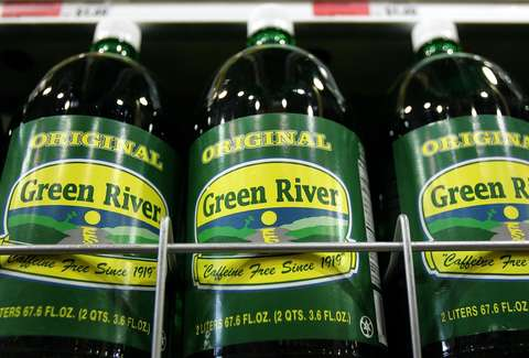 Green River bottles