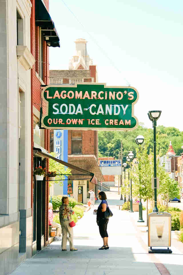 Lagomarcino's Soda Shop