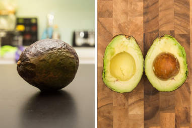 what happens to avocado ripened in microwave