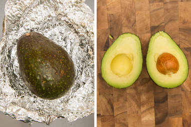 oven ripened avocado ripened in an oven