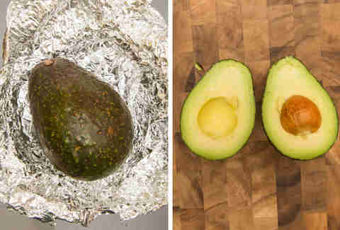 oven ripened avocado