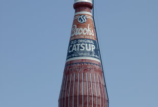 World's Largest Catsup Bottle