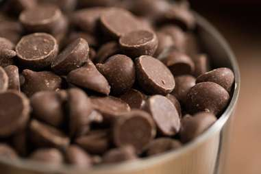 chocolate close up