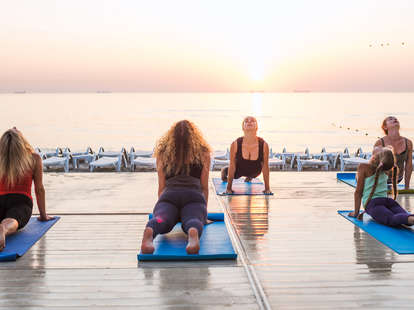 yoga class beginners