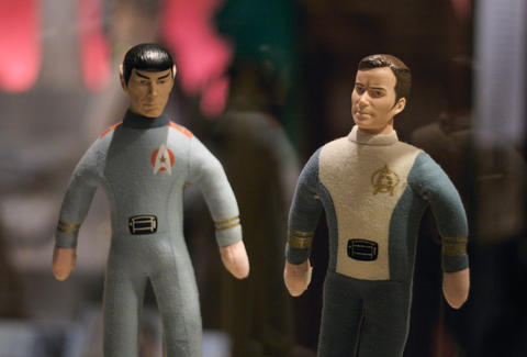 star trek figurine