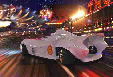 speed racer rotten tomatoes