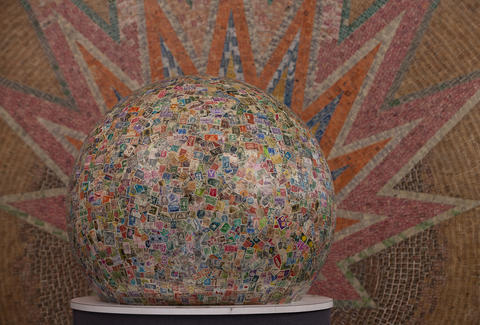 world's largest ball of stamps