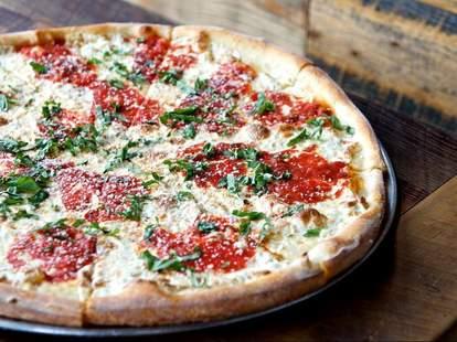 Five Points Pizza margharita slice of pizza nashville tn thrillist