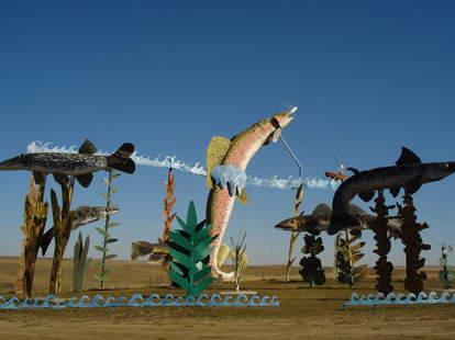Enchanted Highway sculptures in North Dakota