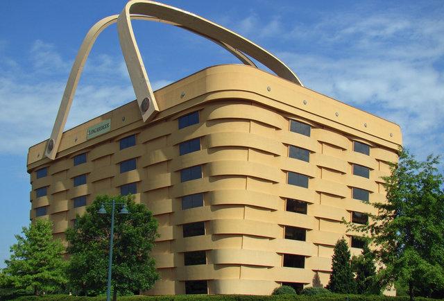 Longaberger basket home office thrillist nation Longaberger basket building for sale