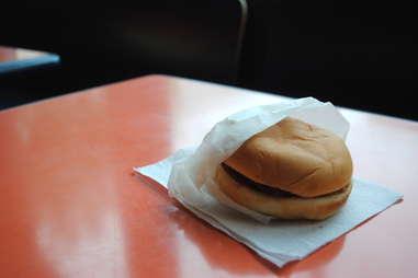 Dick's Drive-In hamburger