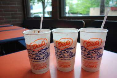 Dick's Drive-in milkshake