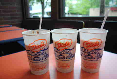 Dick's Drive-in milkshake