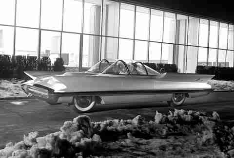 The Lincoln Futura was the original Batmobile