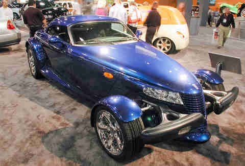 The Prowler concept is almost identical to the road car