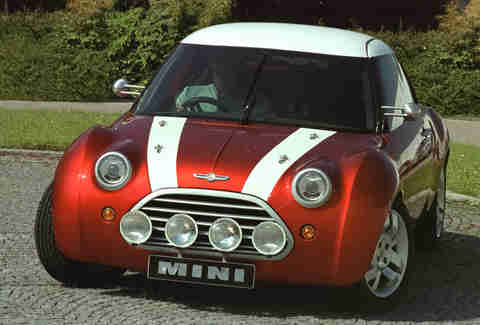 The MINI ACV 30 was a portend of things to come