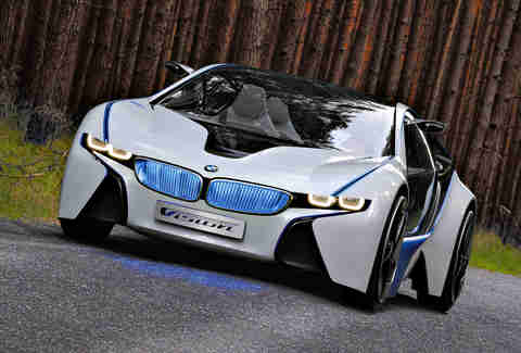 BMW i8's origins are pretty amazing