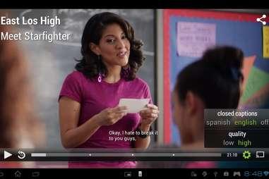 Hulu captions