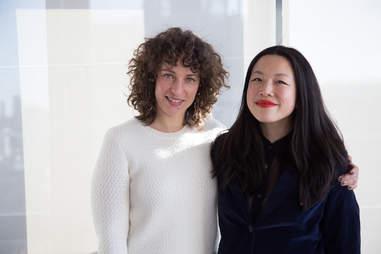 Kimberly Chou and Amanda Dell