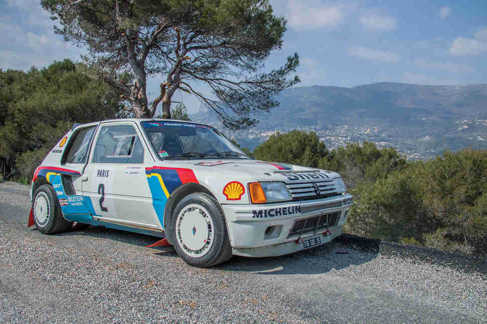 1984 Peugeot 205 T16 Evo 1 Group B Rally Car