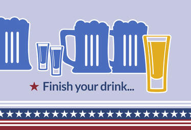 Finish your drink