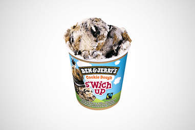Ben and Jerry's Cookie Dough S'wich Up ice cream