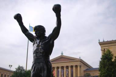 rocky statue and philadelphia museum of art