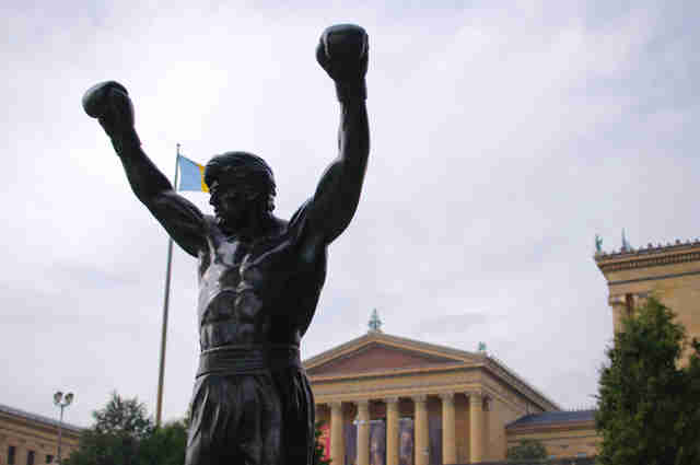 rocky statue and philadelphia museum of art