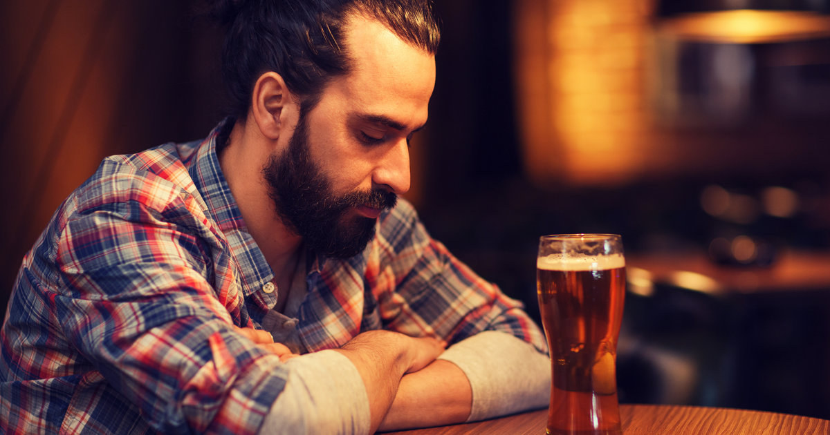 a rant of an alcoholic person at a bar